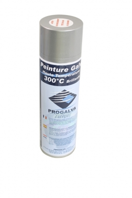 Pintura galvanizada brillante - Spray
