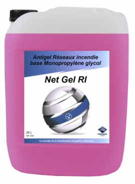 GLYCOL NET GEL R.I. Anticongelante rosa